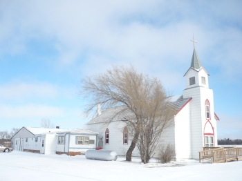 St. Catherine's Church in Big Bend, SD