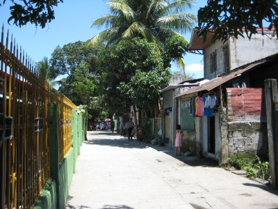 The streets of Caloocan