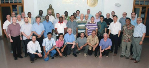 SCJs from around the world are at the Generalate in Rome this week for a workshop on administrative skills -- the nuts and bolts of keeping a province running smoothly. Fr. Terry Langley (far left, second row) is representing the US Province.