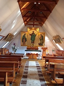 Chapel at the SCJs' novitiate in Poland