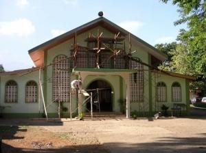 The parish church in Dumaliano