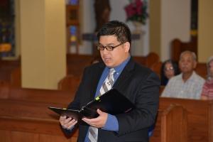 Frater Joseph Vu renews his vows