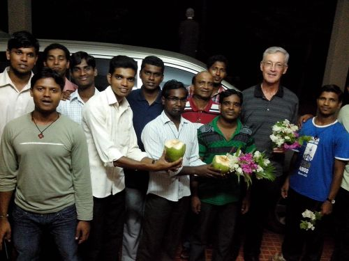 Fr. Tom arrives in Eluru