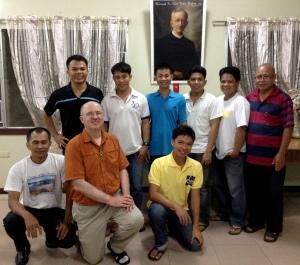 Fr. Steve with novices