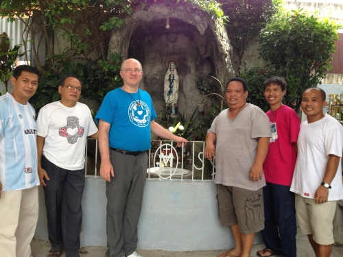 Fr. Steve with SCJs in the Philippines