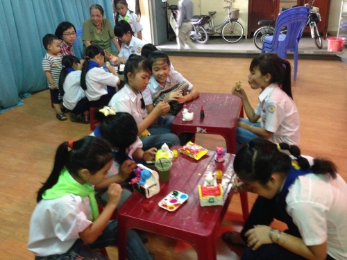 Parish carnival in Nha Trang