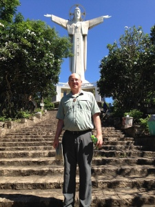 Fr. Steve at the Shrine of Vung Tau