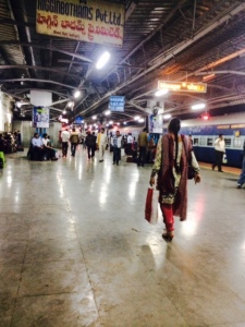 Planes, trains and automobiles. Fr. Cassidy was back on an Indian train less than a day after his arrival in Mumbai