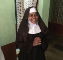 A member of the Carmelite community near Eluru