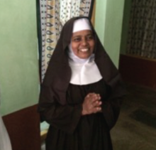 A member of the Carmelite community near Eluru
