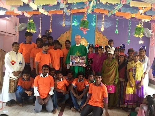 Fr. Tom was well-remembered by the Indian community for his birthday