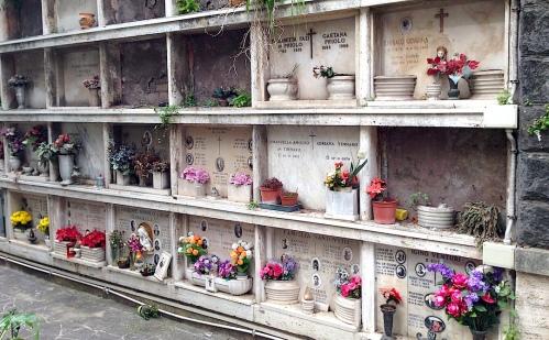 Mausoleum flowers