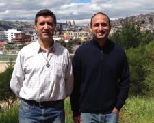 Fr. José and Dn. Carlos