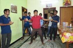 Dancing seminarian