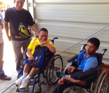 Students at Talitha Kum, a parish school for the disabled