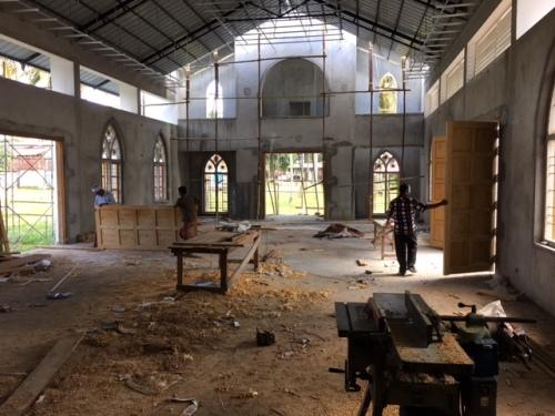 St. Joseph's under construction