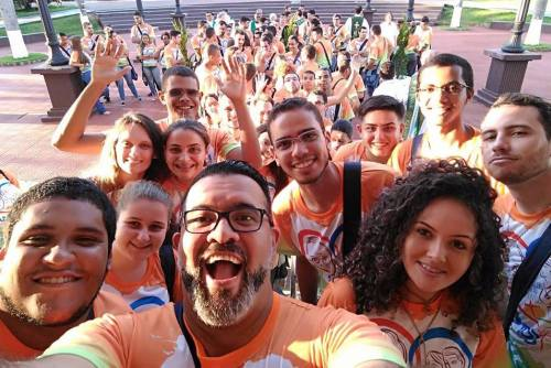 Frater Juancho and friends in Brazil